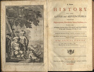 A General History of the Lives and Adventures of the Most Famous… - Title page