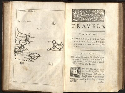Travels into several remote nations… By Captain Lemuel Gulliver, Vol. II  - Plate III