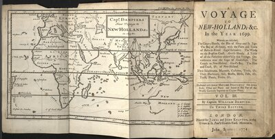 A Voyage to New Holland… Vol. III  - Title page