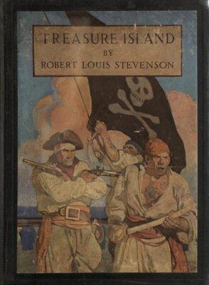 Treasure Island, Illustrated by N.C. Wyeth - Cover