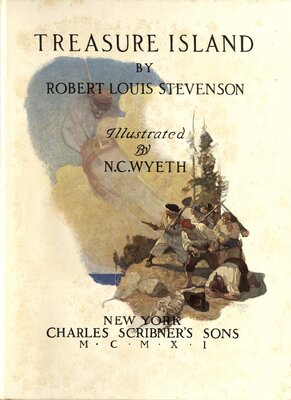 Treasure Island, Illustrated by N.C. Wyeth - Title page