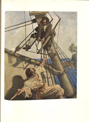 Treasure Island, Illustrated by N.C. Wyeth - Illustration