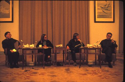 CCAS Meets with Premier Zhou Enlai & Other CCP VIPs