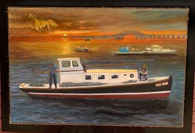 WhiteHorse Storyboard Painting