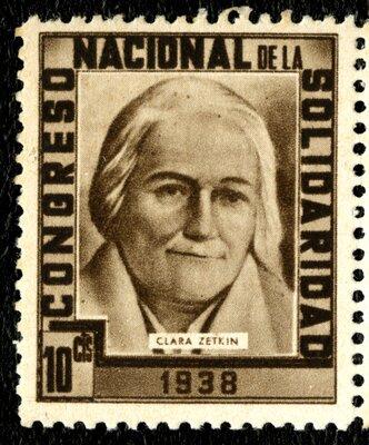 Spanish Civil War Stamp: Communists