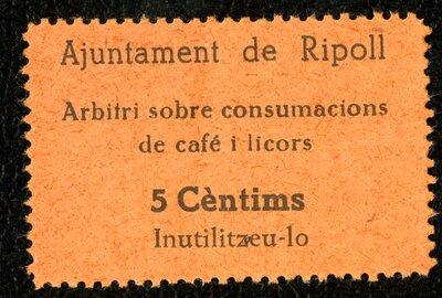 Spanish Civil War Stamp: Food Stamps