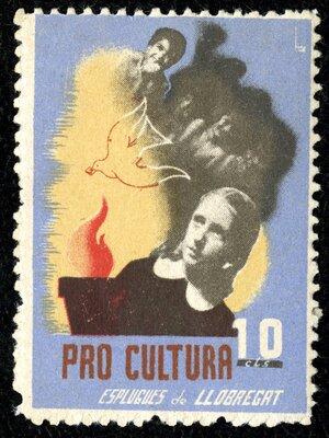 Spanish Civil War Stamp: Cultural Initiatives