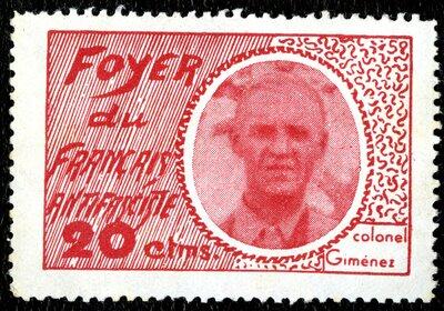 Spanish Civil War Stamp: Nationalists