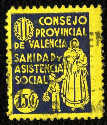 Spanish Civil War Stamp: Regional Governments