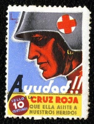 Spanish Civil War Stamp: Poster Stamps