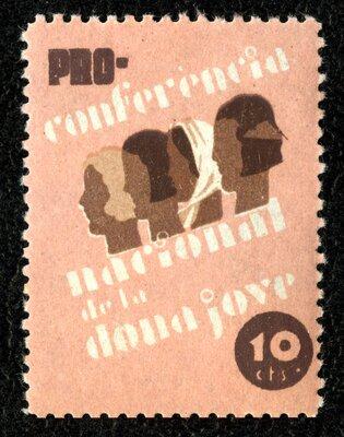Spanish Civil War Stamp: Fundraising