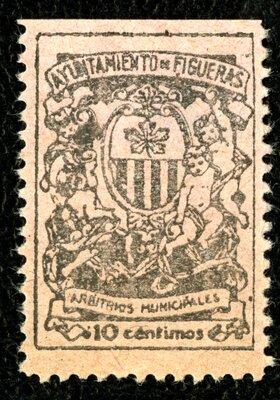 Spanish Civil War Stamp: Municipal Governments