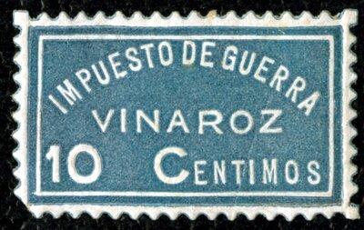 Spanish Civil War Stamp: Revenue Stamps