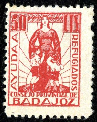 Spanish Civil War Stamp: Provincial Governments