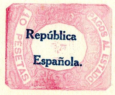 Spanish Civil War Stamp: National Governments