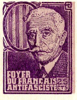 Spanish Civil War Stamp: Politicians