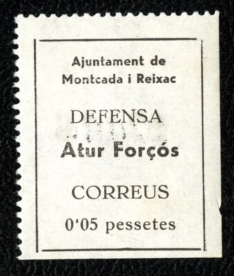 Spanish Civil War Stamp: Postage Stamps