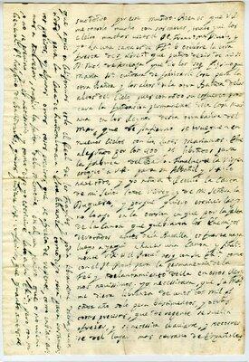 Autograph letter signed Loreto Mission, California, 17 April 1698 - Page 2