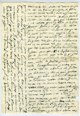 Autograph letter signed Loreto Mission, California, 17 April 1698 - Page 3