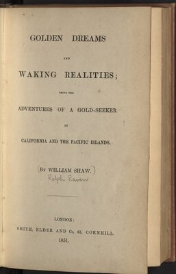 Golden Dreams and Waking Realities